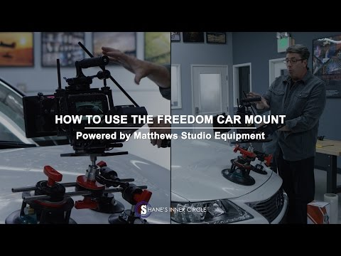 How To Use The Freedom Car Mount, Powered By Matthews Studio Equipment