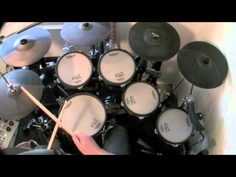 Smoke On The Water - Deep Purple (Drum Cover) drumless track used