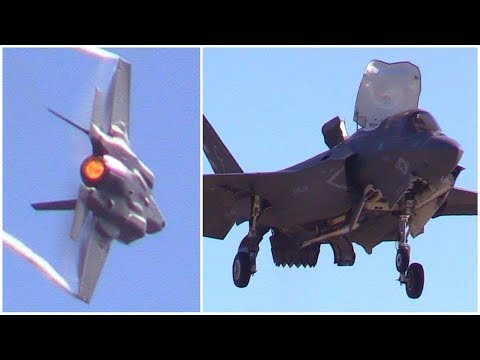 F-35B Lightning II Demo 2017 MCAS Miramar Air Show