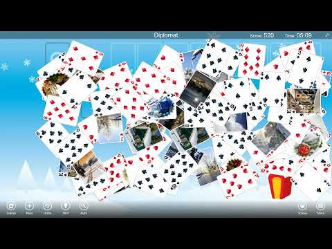 How To Play Diplomat Solitaire With 123 Free Solitaire