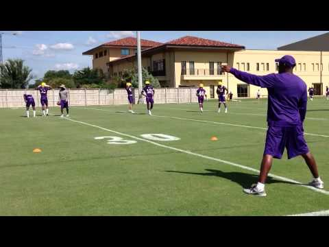 Young DBs work hips