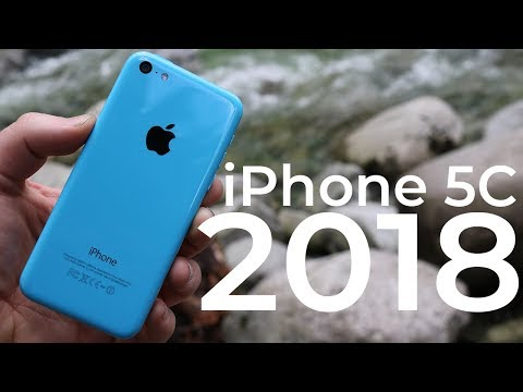 Using the iPhone 5C in 2018 - Review
