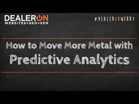How to Move More Metal with Predictive Analytics
