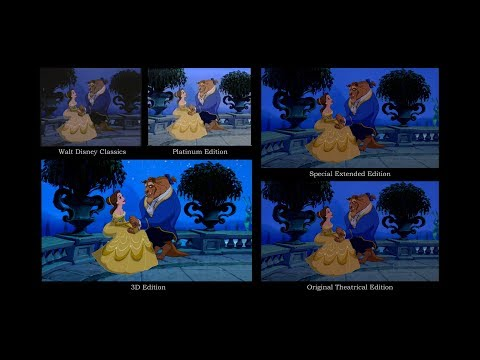 Disney's 'Beauty And The Beast' | Video Editions Comparison