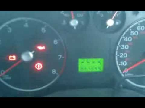 Ford Focus Instrument Cluster Panel Fail /Dashboard problem