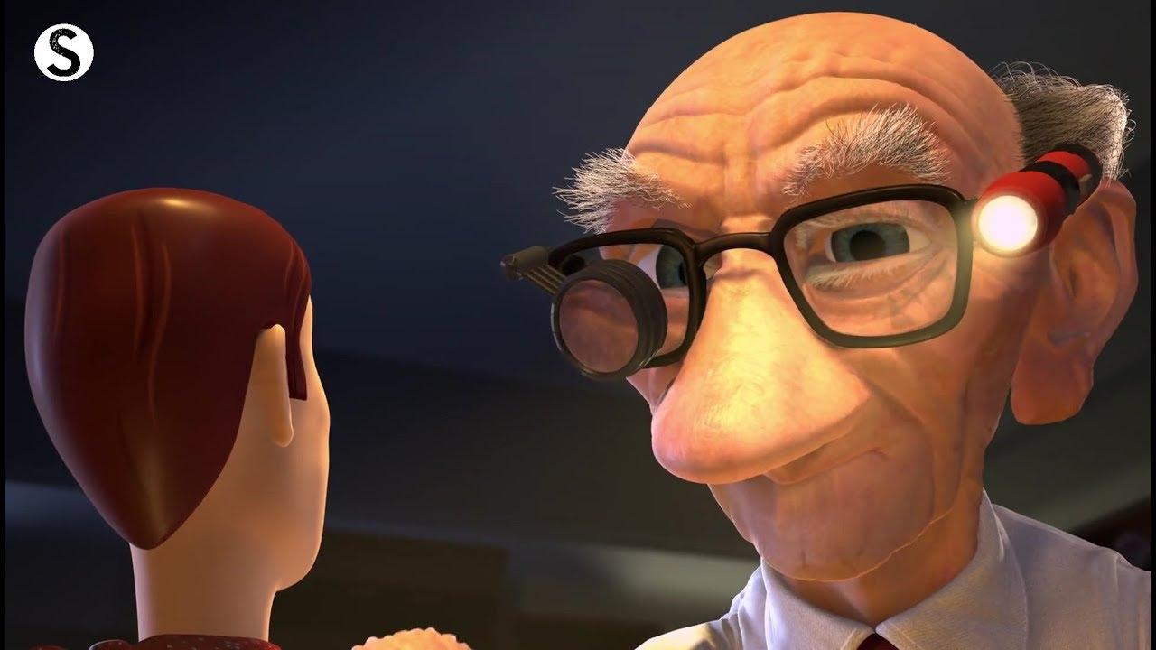 Toy Story 2 Fixing Woody Scene - YouTube