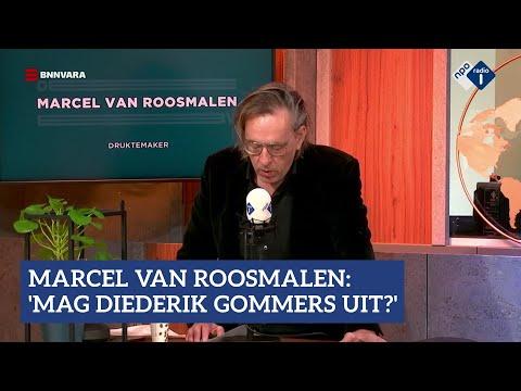 Druktemaker Marcel van Roosmalen: 'Mag Diederik Gommers uit?' | NPO Radio 1