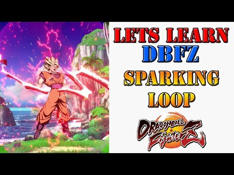 Lets learn DBFZ! - How to do SSJ & Base Goku's sparking loops