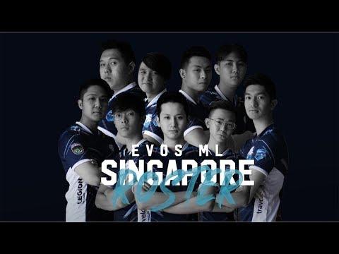EVOS MOBILE LEGENDS | SINGAPORE ROSTER