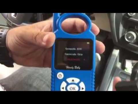 JMD Handy Baby car key copy KO VW JETTA 2012 by assistant in Brazil
