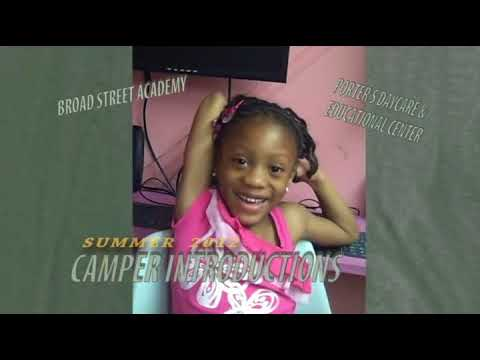 2012 Broad Street Academy Summer Camp Camper Introductions