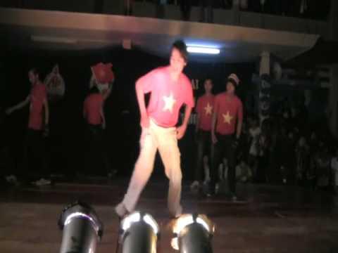 Nhảy Hiphop thi Học sinh thanh lịch năm 2011 trường An Phước