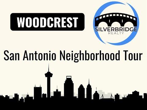 San Antonio Neighborhoods: WOODCREST Dash Cam Tour 2018