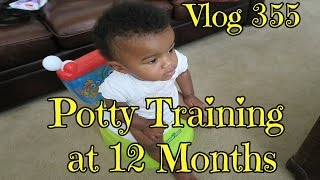 Vlog 355: Potty Training at 12 Months