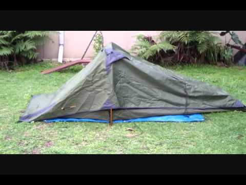 Outerlimits 2 person 3 season lightweight tent part 2 & Outerlimits 2 person 3 season lightweight tent part 2 - YouTube