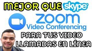 Cómo Instalar Y Usar Zoom Para Video Conferencias Mejor Que Skype