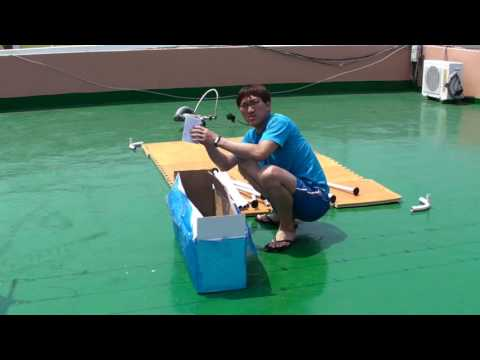 [규봉채널]수영장 설치하다
