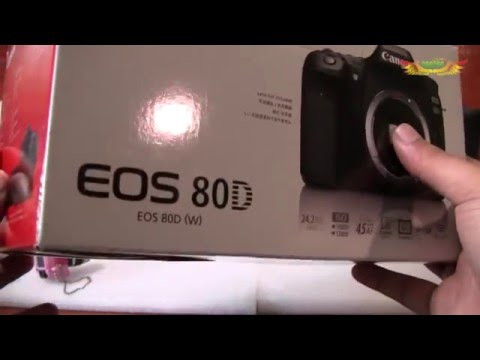 [Review] กล้อง Canon EOS 80D (ตอนที่ 1)