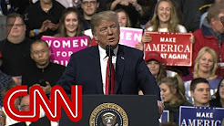 Trump unscripted and unleashed in Pennsylvania stump speech