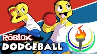 PLAYING DODGEBALL IN ROBLOX WITH JUANESELREY SUPER LAG OF THE YEAR