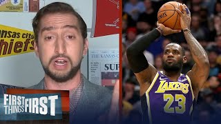 LeBron's window to win 6 rings closes if Lakers don't win the title - Nick | FIRST THINGS FIRST