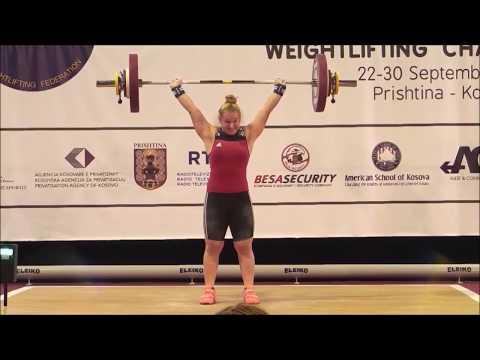 VICTORIA STEINER - 2. Reißen 65-70-73kg - 3. Stoßen 82-88-91kg - 3. Zweikampf 164kg