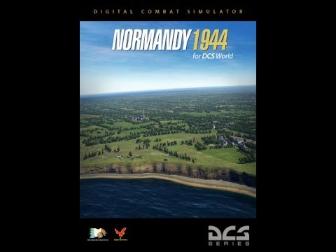 DCS: Normandy 1944 Map - UH-1H Huey Fun! (from live stream)