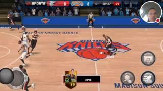 NBA LIVE MOBILE GAMEPLAY | CRAZY DAMIAN LILLARD BUZZER BEATER