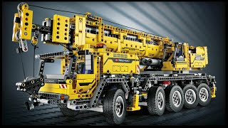LEGO - АВТОКРАН 42009 БЫСТРАЯ СБОРКА ЛЕГО (SPEED BUILD LEGO)
