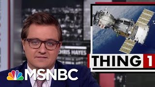 President Donald Trump Taunts Iran With Failed Rocket Launch Photo | All In | MSNBC