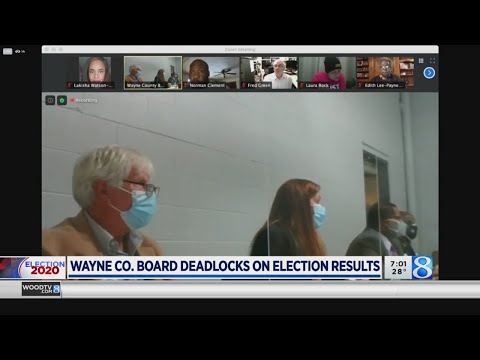 (UPDATED) Republicans on Michigan county canvassers board certify election results after initially blocking; Rashida Tlaib called them racist