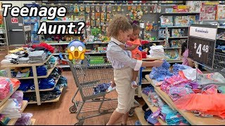 A Day in the life  w/ a toddler at 15😱 | Teen TT