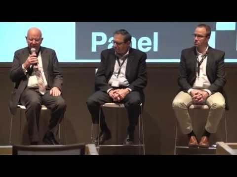 Panel session on the future of the electronic document | Harvey Spencer, Mark Gross and Peter Duff.