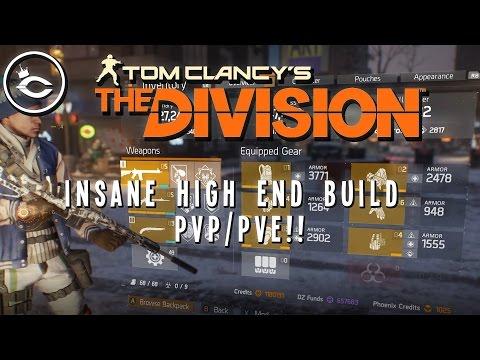 The Division - INSANE HIGH END PVP/PVE BUILD!! COUNTERS ALPHABRIDGE!!?!?