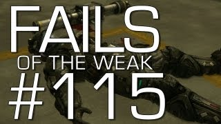 Fails of the Weak: Ep. 115 - Funny Halo 4 Bloopers and Screw Ups! | Rooster Teeth