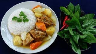 Món Ăn Ngon - CƠM CÀ RI GÀ Kiểu NHẬT BẢN ngon ơi là ngon