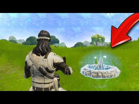 NEW COZY CAMPFIRE UPDATE! (Fortnite Battle Royale)