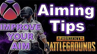PUBG AIMING TIPS (XBOX): How to aim better on PUBG Xbox One (Controller Gameplay)