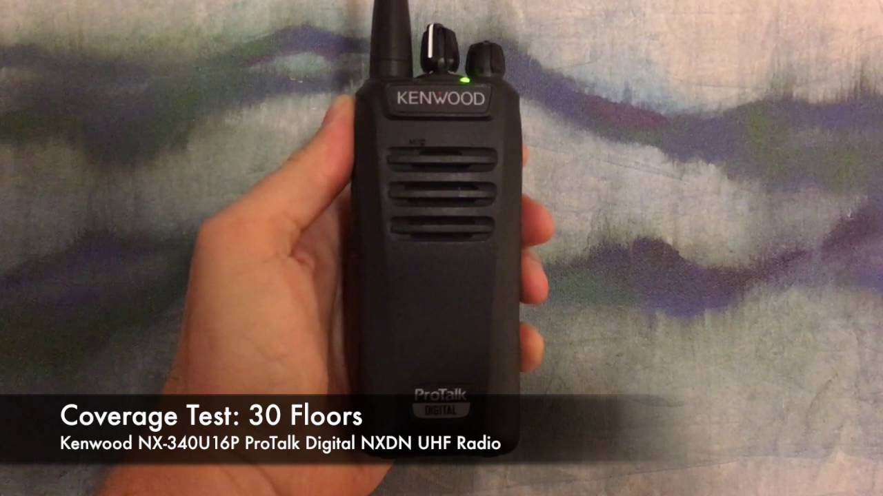 Kenwood NX-340U16P2 ProTalk NXDN Digital 2-Watt UHF Radio