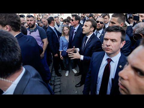 """Jérôme Maes, le cheminot qui a interpellé Macron : """"J'ai eu l'impression qu'il cherchait à discuter"""""""