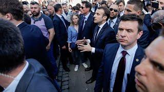 Jérôme Maes, le cheminot qui a interpellé Macron :