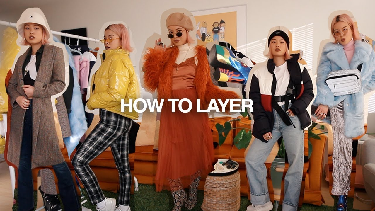 [VIDEO] - HOW TO LAYER | 5 Looks for Winter 4