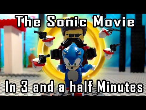 The Sonic Movie in 3 and a Half Minutes