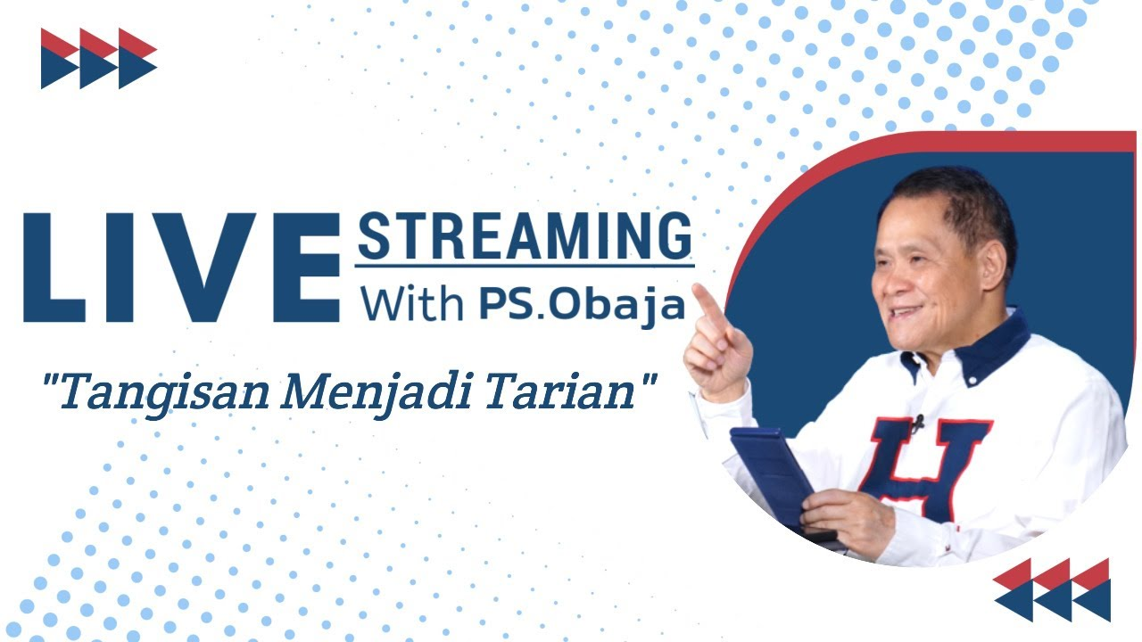 Tangisan Menjadi Tarian - Live Streaming With Ps Obaja TS - 02 Juli 2020