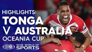 NRL Highlights: Tonga Invitational v Australian Kangaroos - Test Match Footy | NRL on Nine