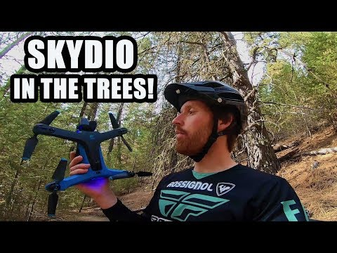SKYDIO 2 In The Trees!