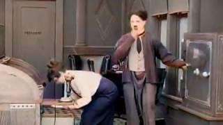 The New Janitor (1914) - CHARLIE CHAPLIN - Mack Sennett - color (Laurel & Hardy)
