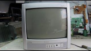 (13)# TV SEMP TOSHIBA U 18 QUEIMANDO SAIDA H. TS 1803 DHI