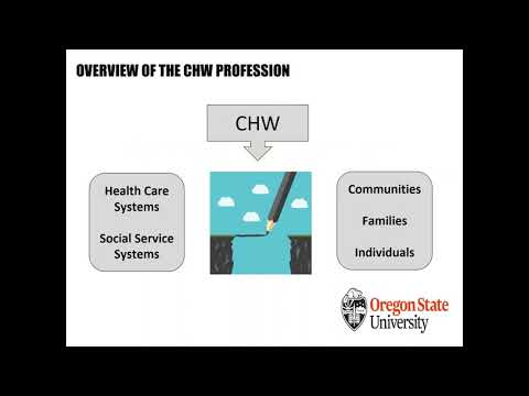 Community Health Worker Program Webinar