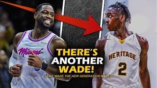 Retired na si Dwayne Wade pero may paparating na bagong Wade! | Zaire Wade is the New Flash!